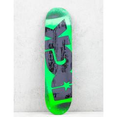 """Дека DGK Fluorescent Logo Green 8.06"""""""