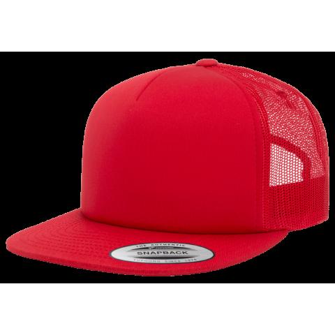 Кепка FlexFit 6005FF Trucker Red