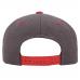 Кепка FlexFit 6089MT - Classic Snapback Dark Heather/Red