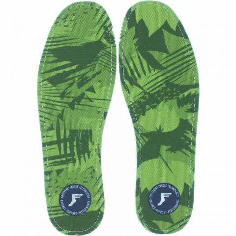 Стельки Footprint Kingfoam Flat (3mm) Green Camo