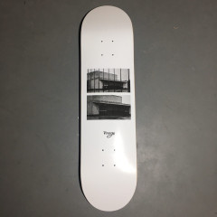 Дека Virage skateboards BKZ white